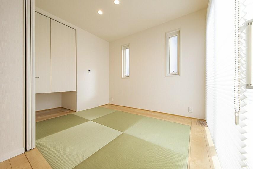 和室 No.45_和室(撮影_2021年2月)テレワークスペースやキッズスペースとしても使えます。