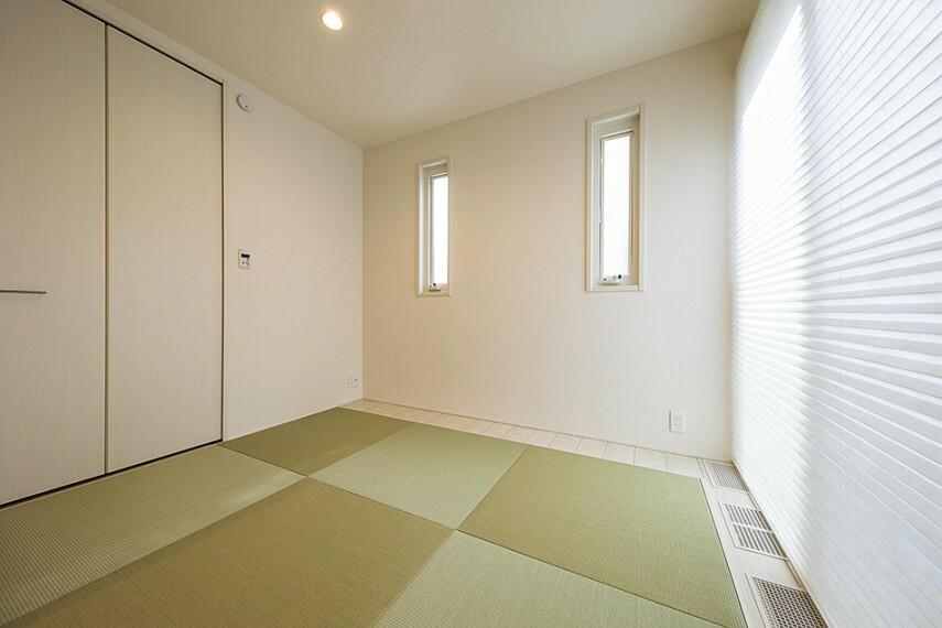 和室 No.92_和室(撮影_2021年2月)テレワークスペースやキッズスペースとしても使えます。