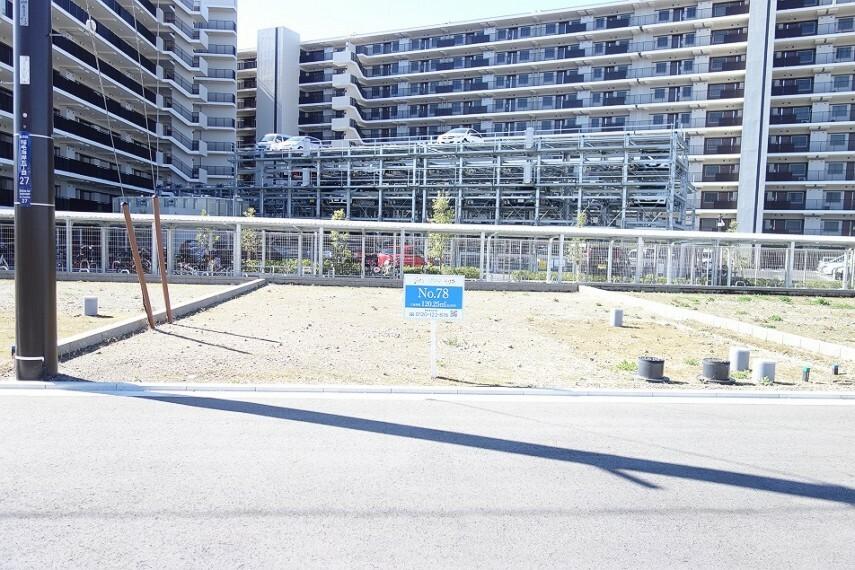 現況写真 No.78_土地(撮影_2021年3月)36.37坪の敷地に自由設計にてご建築いただけます。