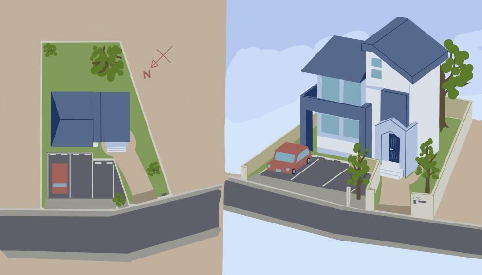 区画図 イメージ