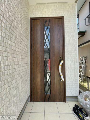 玄関 安心のダブルロック玄関ドア