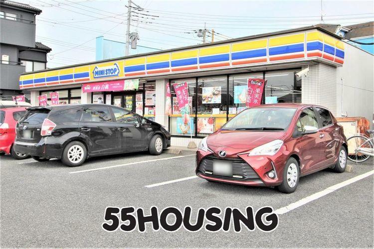 コンビニ ミニストップ久喜本町店 徒歩7分。