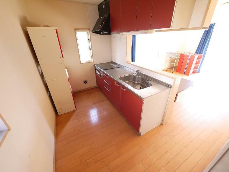 キッチン ゆったりキッチンスペース