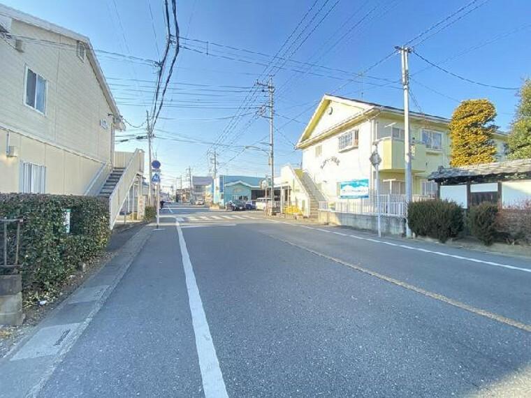 現況写真 前面道路・・・(R3.1.21撮影)