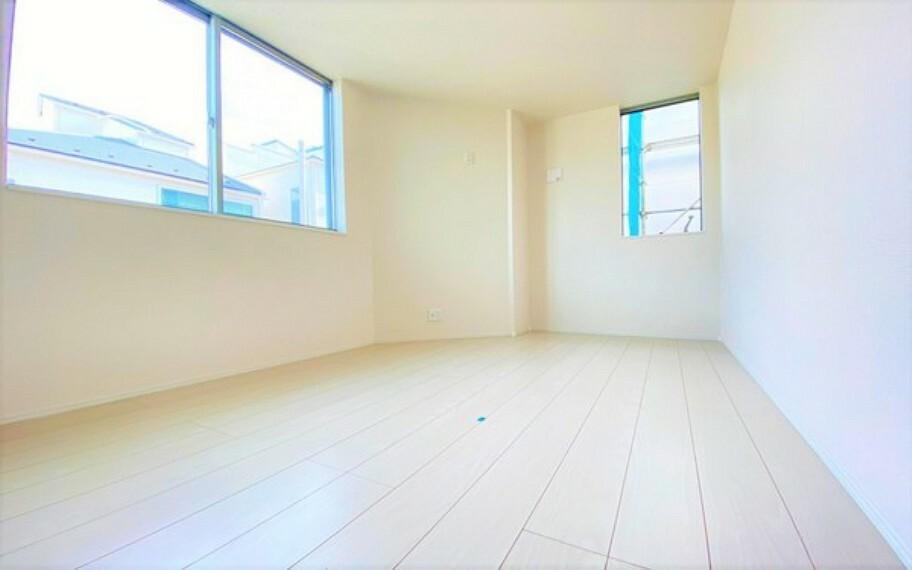子供部屋 収納もとれている居室。子供部屋にもいいですね。