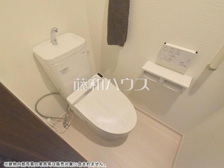 トイレ きれいでさわやか、ウォシュレット付きトイレ 【杉並区天沼1丁目】