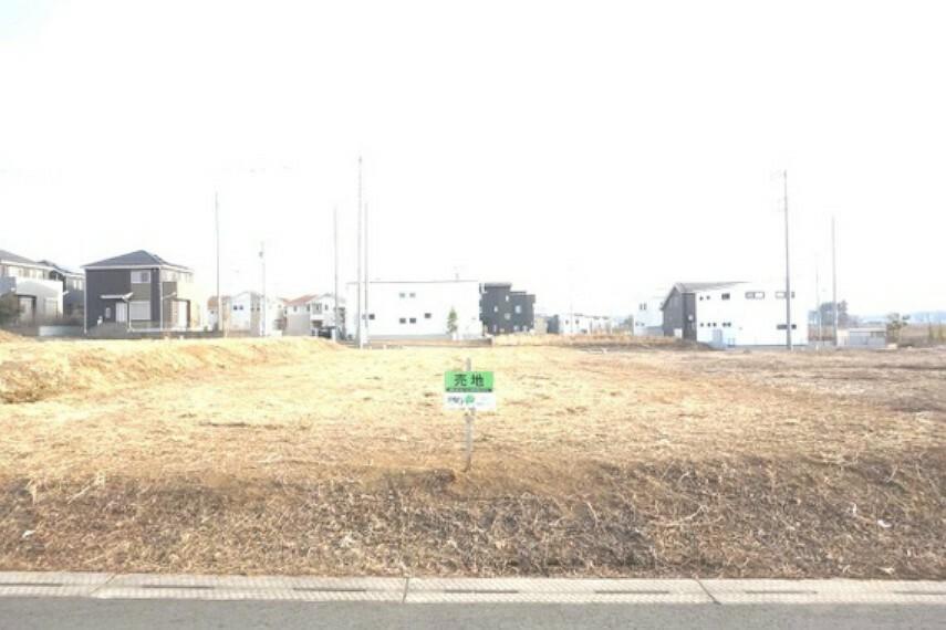 現況写真 阿見町大字吉原の売地のご紹介です。