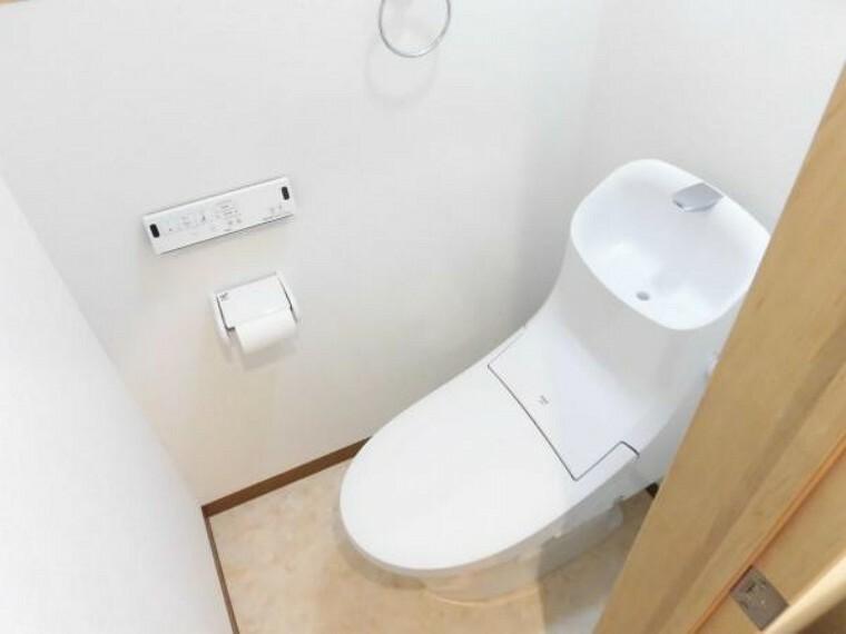 トイレ 【リフォーム済】トイレはLIXIL製水栓付きトイレに新品交換しました。毎日使うところなので、新品だとうれしいですね。