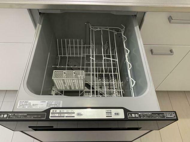 キッチン 家事時短!食洗器は必須。