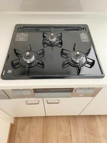 キッチン お料理好きの方にも嬉しい火加減調節可能なガスコンロ!