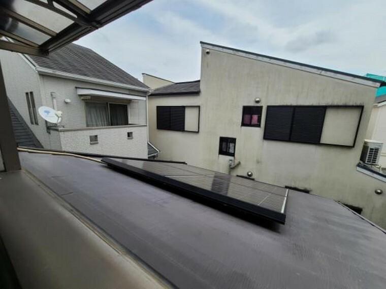 眺望 太陽光発電システムのあるお家です!陽当りが遮られることのない眺望!