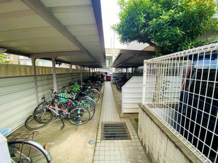 駐輪場 屋根付き駐輪場