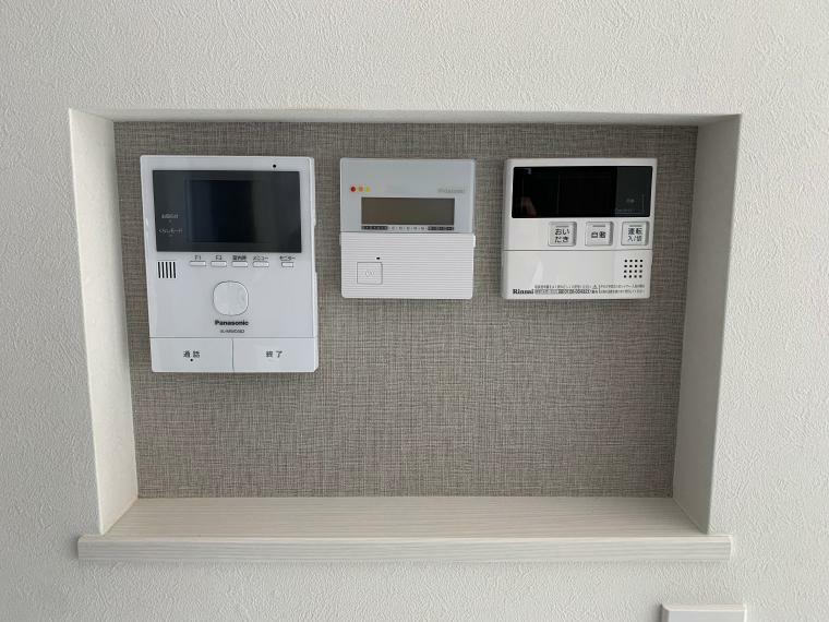 設備リモコン(給湯器、床暖房、インターホン)