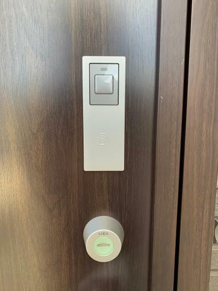 玄関 ICカード開錠