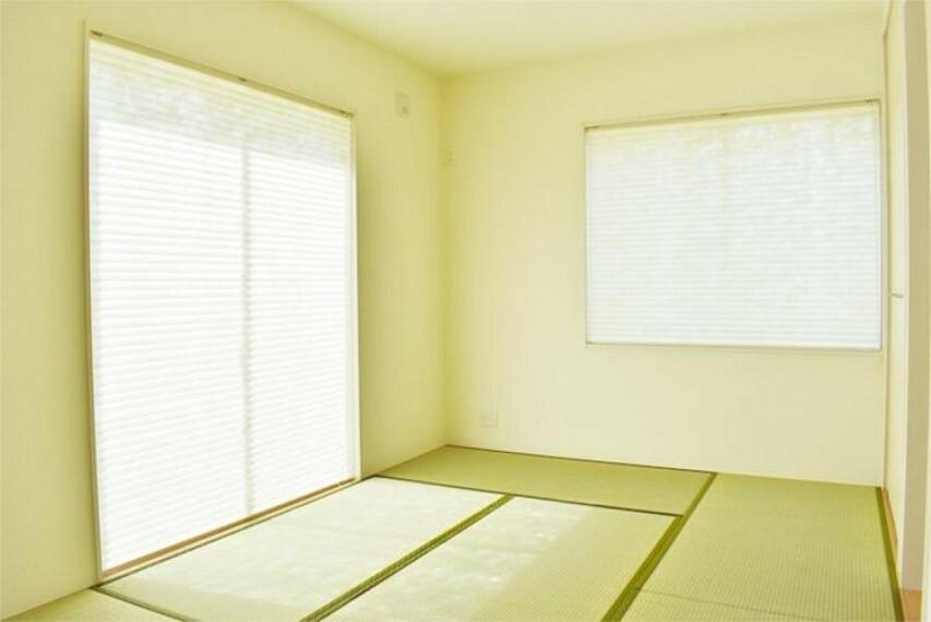 【施工例】和室4.5帖。来客時やお子様のプレイルームとしても便利
