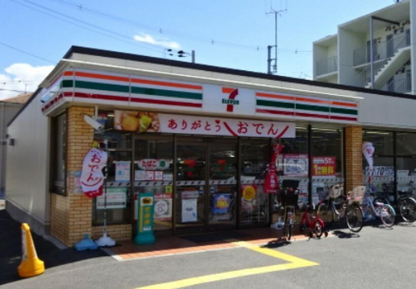 コンビニ 【コンビニエンスストア】セブンイレブン 豊中桜の町5丁目店まで473m