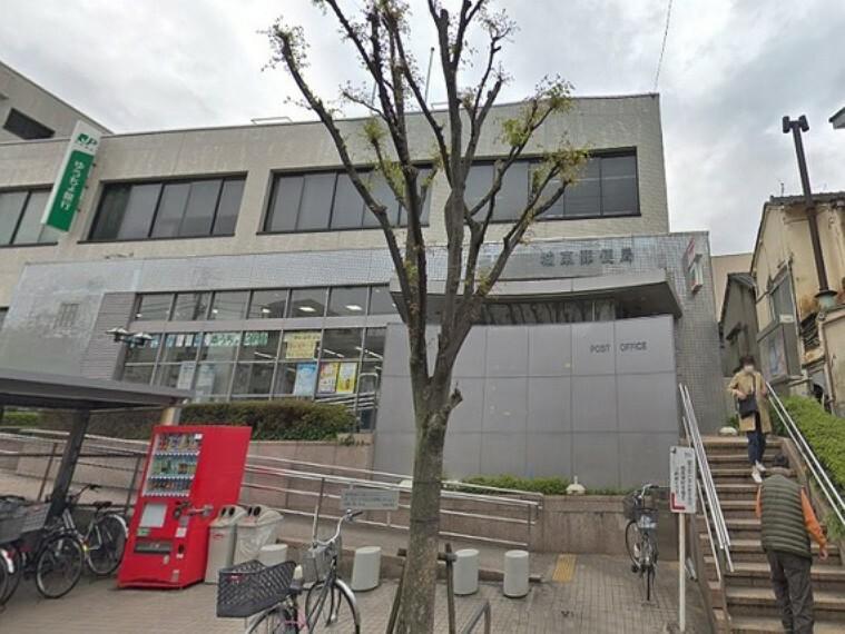 郵便局 ゆうちょ銀行城東店が併設されています。駐車場も完備されています。