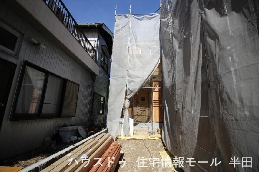 外観・現況 【建築過程】 2021年2月9日撮影