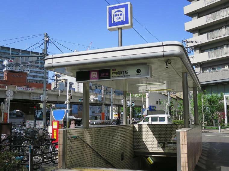 大阪メトロ谷町線、「中崎町」駅