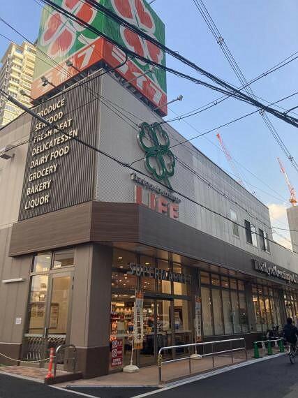 スーパー スーパーライフ中崎町駅前店