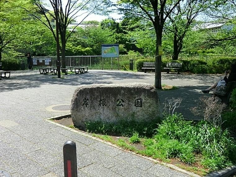 公園 岸根公園 岸根公園駅から徒歩1分でアクセスのよい公園です。野球場、武道館、広場、篠原池などがあり水と緑が調和する癒しの空間です。