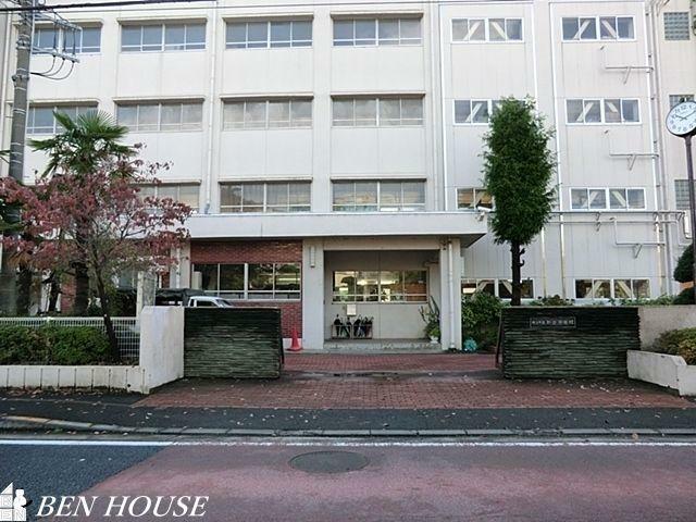 中学校 横浜市立新田中学校 徒歩8分。部活動帰りの帰宅も安心の距離です!