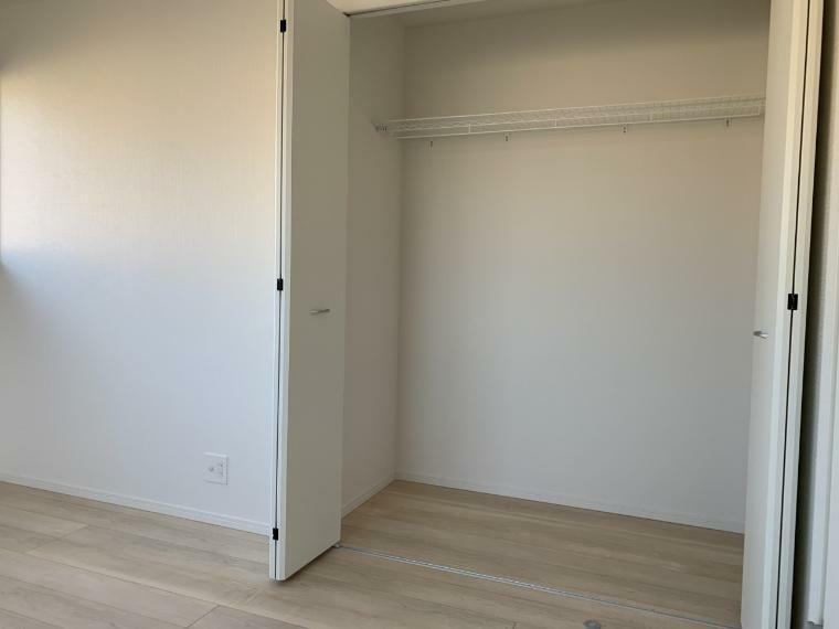 収納 各居室収納設置 キレイに片付くのでお部屋に無駄なスペースはありません