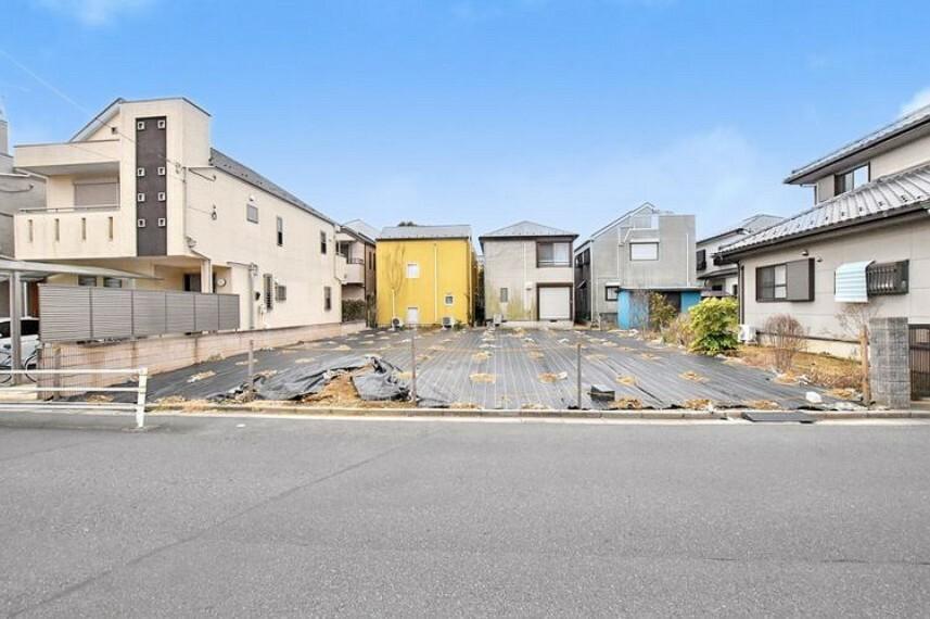 現況写真 【現況写真】80坪以上の広々敷地です。お好きなハウスメーカーで建築可能です。
