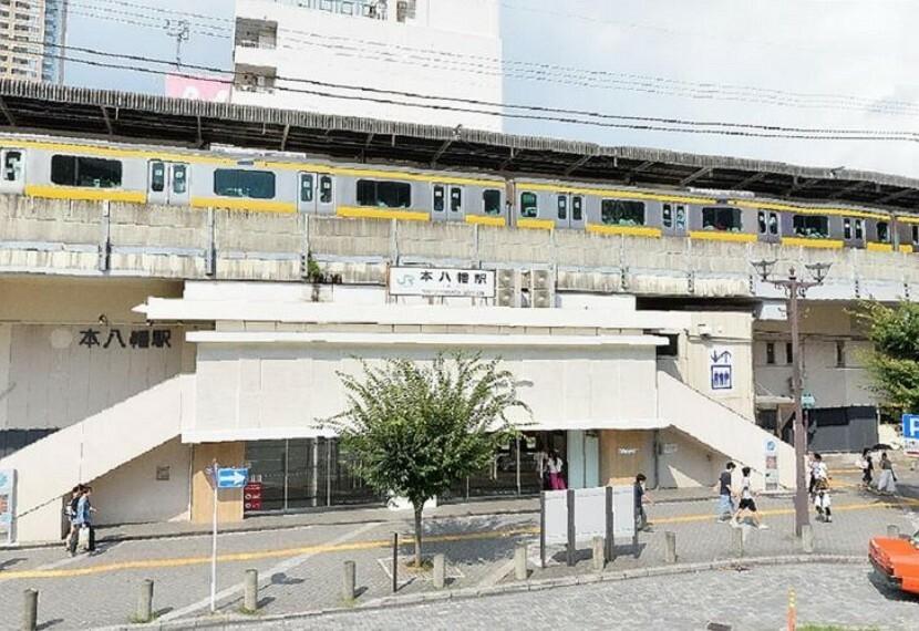 本八幡駅(JR 総武本線) 徒歩19分。