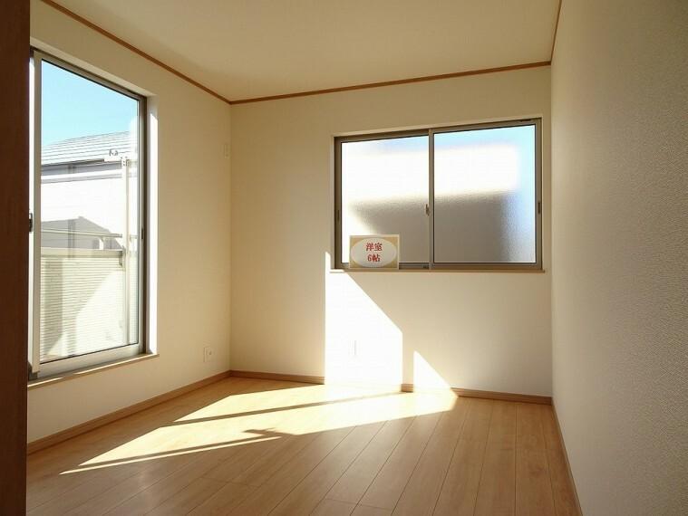 洋室 施工例 子供部屋にも最適な広さのお部屋です