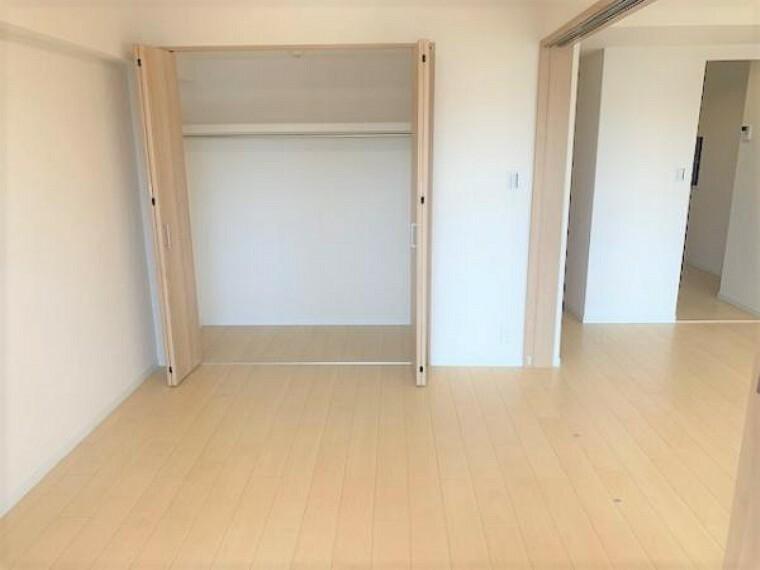 収納 各部屋に収納があるのでお部屋を広く使えます。
