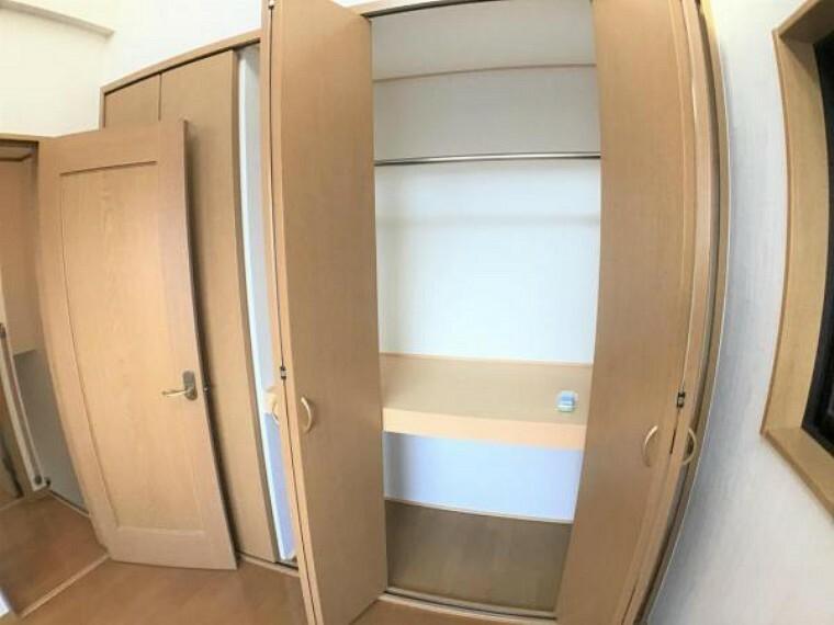 収納 各部屋ともに収納力はタップリです。