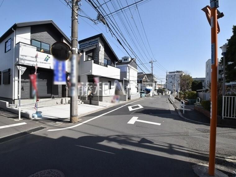 現況写真 接道状況および現場風景 【西東京市北町1丁目】