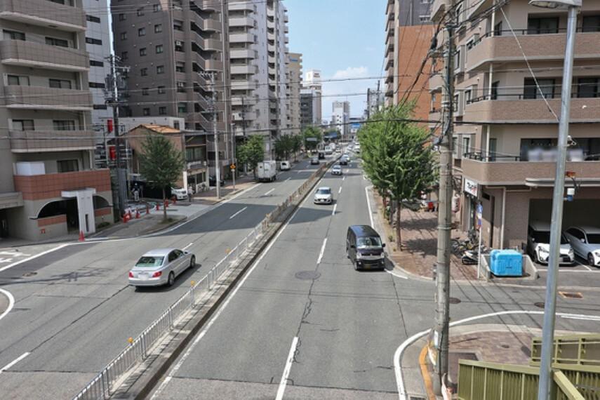 現況写真 オープンレジデンシア名古屋駅-THE-COURT北道路