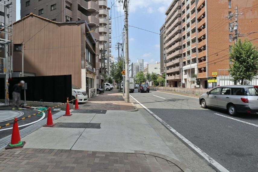 現況写真 オープンレジデンシア名古屋駅-THE-COURT北道路2