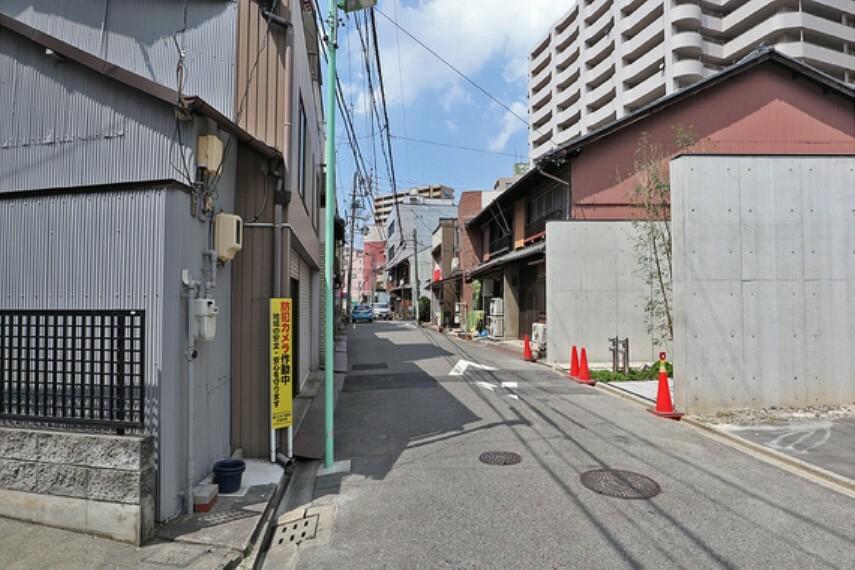 現況写真 オープンレジデンシア名古屋駅-THE-COURT正面道路