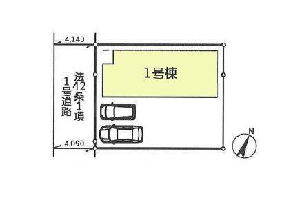 区画図:1号室