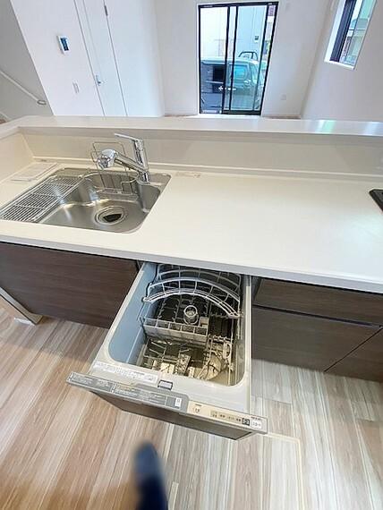 キッチン キッチンには食洗器付です。