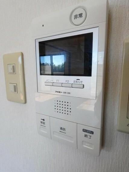 防犯設備 モニター付インターホン