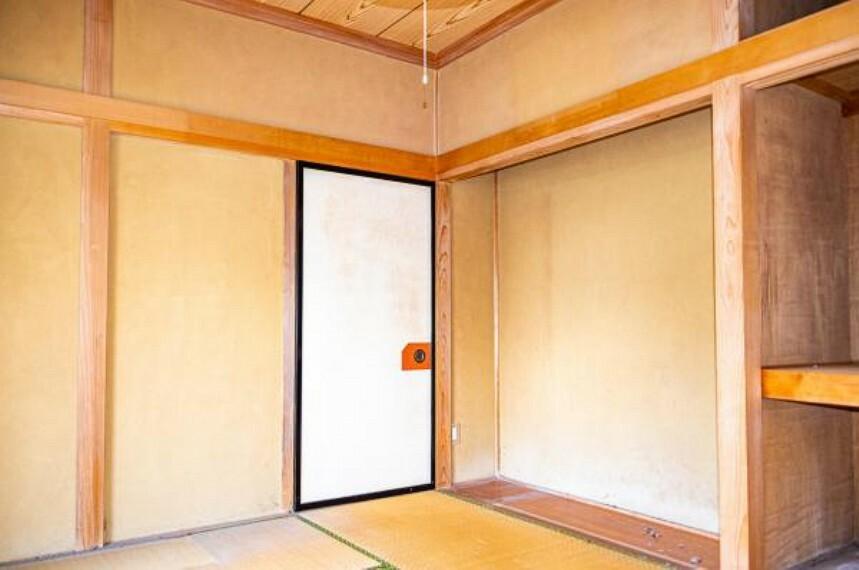【リフォーム中】1階8畳和室別角度です。