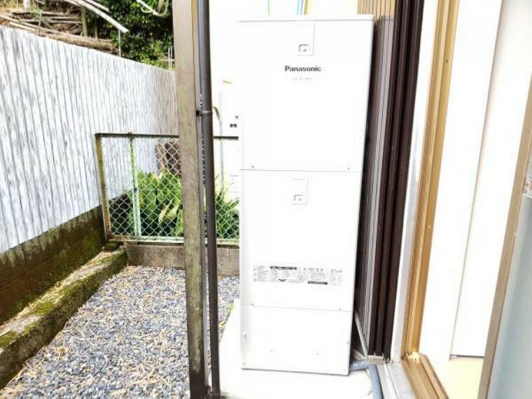 発電・温水設備 【リフォーム完成】新品に交換したエコキュートです。