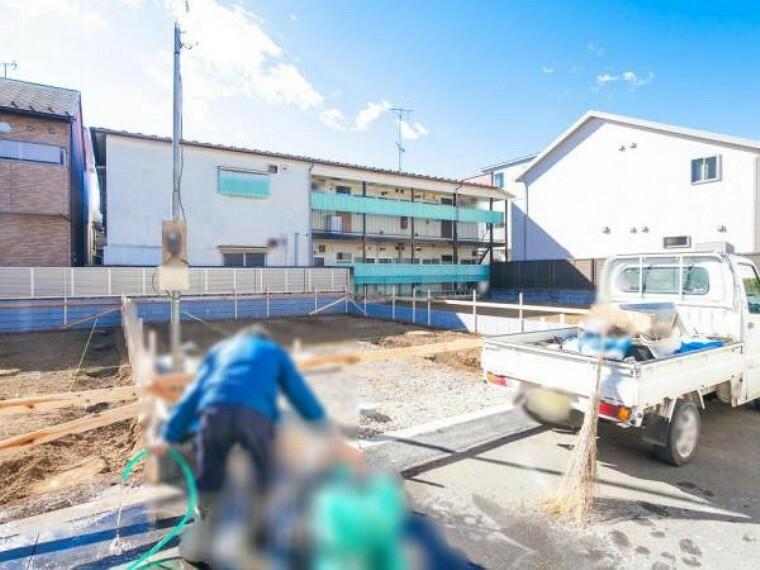 現況外観写真 現地写真(2月9日撮影)
