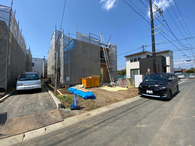 現況外観写真 徳倉の市街地から道路を一本入った場所なので、閑静で住環境に適した立地!