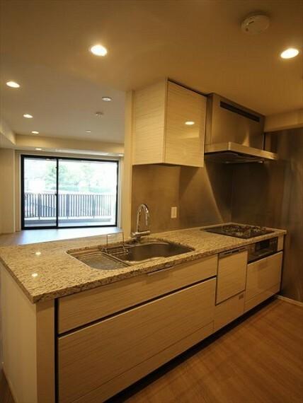 キッチン 食器洗浄乾燥機があり、使い勝手の良いキッチンです。