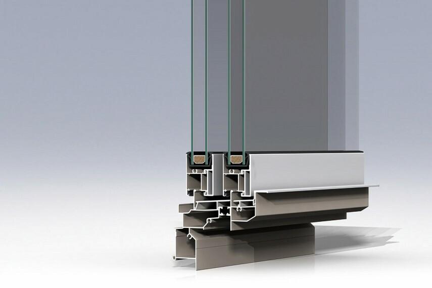 アルミ樹脂複合サッシ 暖房の熱を逃がしにくい断熱性の高い窓。 ※開口の種類により一部複層ガラスアルミサッシの仕様となる場合もあります。
