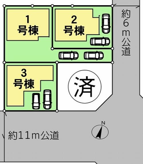 間取り図・図面 2号棟