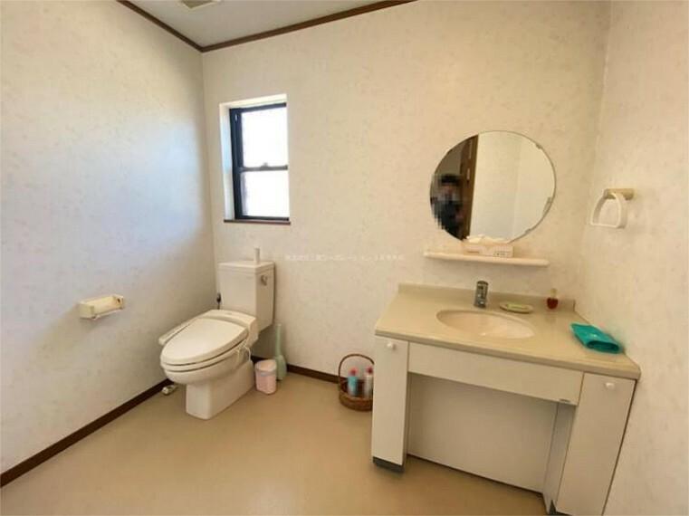 トイレ 2階のトイレ撮影