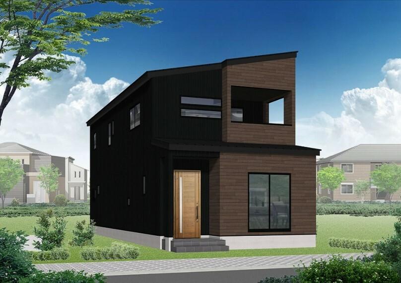完成予想図(外観) (完成予想/外観)ワンランク上のオール電化建売住宅