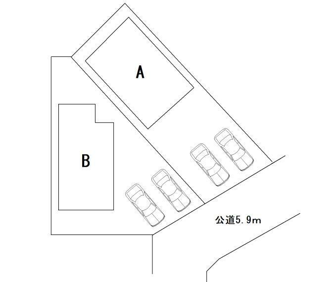 区画図 A棟