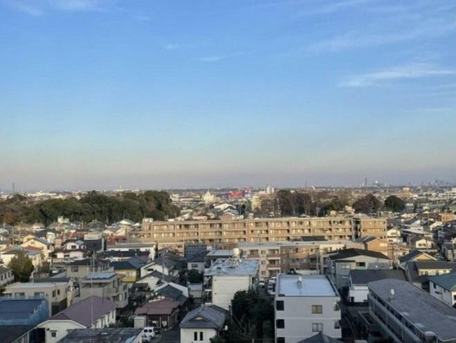 現況写真 バルコニーからの眺め! 最上階10階からの眺めです、
